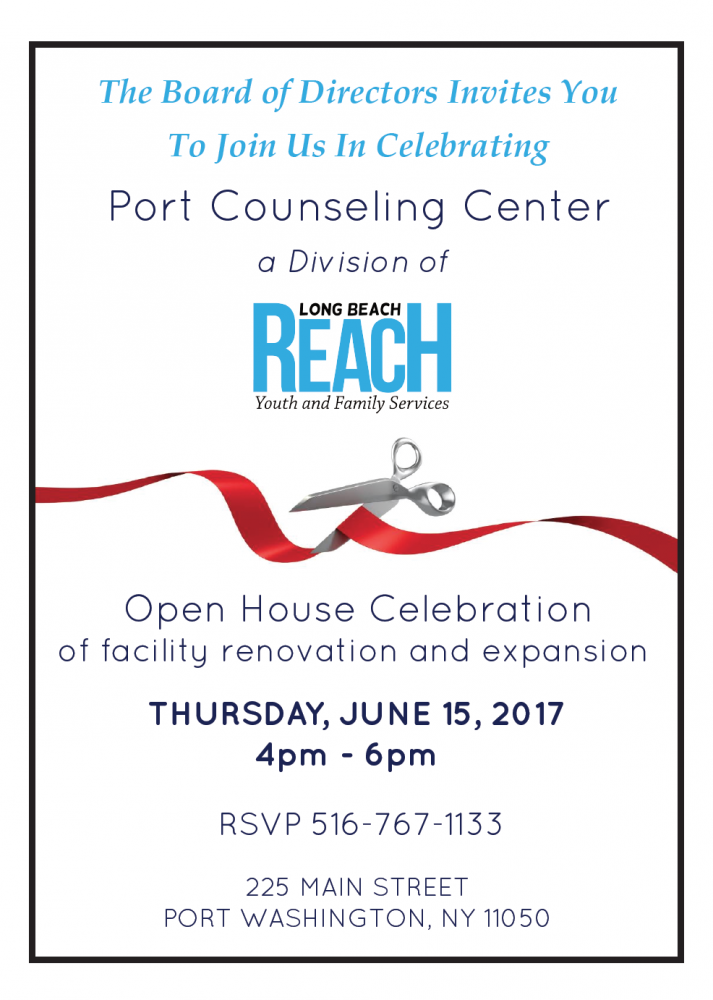 Port Counseling Open House